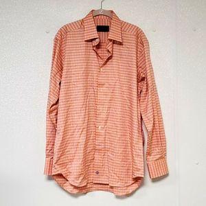 NWT DAVID DONAHUE DRESS SHIRT